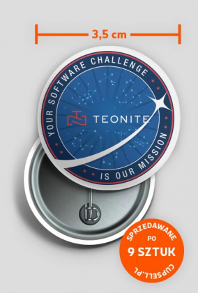 Mission #1 badge by TEONITE