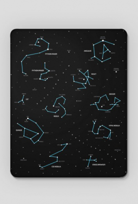 IT Constellations mousepad by TEONITE