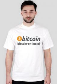 Koszulka bitcoin-online.pl