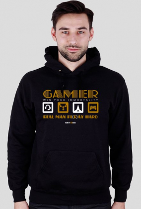 Bluza z kapturem GAMER