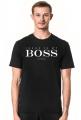 Koszulka czarna Boss