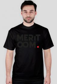 T-Shirt Meritoom One Colour BLACK