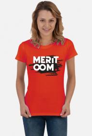 T-Shirt Meritoom Background RED
