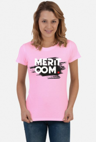 T-Shirt Meritoom Background PINK