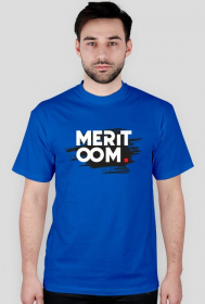 T-shirt Meritoom Background Black