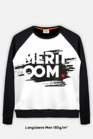Longsleeve Meritoom Background Black