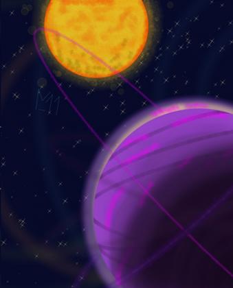 kosmiczny widok