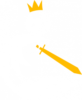 Czarna damska koszulka ze starym logo (duże)