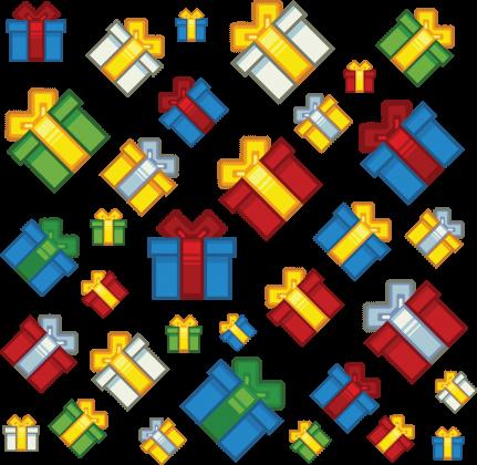 Pixel art – prezenty świąteczne t-shirt
