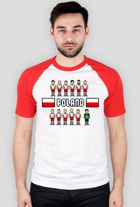 Pixel art – polska reprezentacja – koszulka kibica