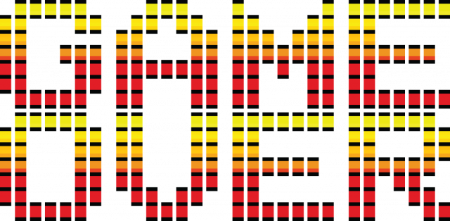 Pixel art – koniec gry, game over