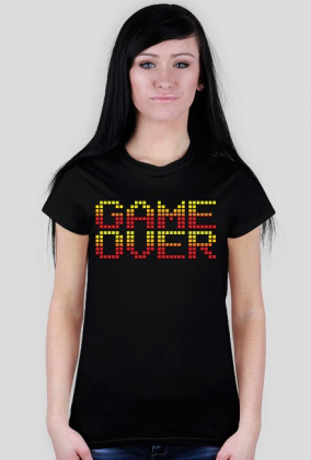 Pixel art – koniec gry, game over