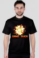 Pixel art –  game over i wybuch, t-shirt (różne kolory)