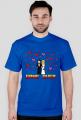 Pixel art – game over t-shirt na wieczór kawalerski (różne kolory)