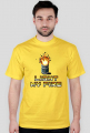 Pixel art – light my fire, t-shirt