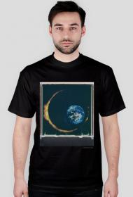 Space Eclipse T-Shirt /black