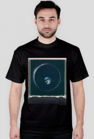 Space Circle T-Shirt/ black