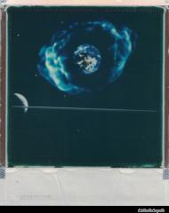 Space Birth Hoodie/ Grey