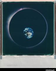 Space Circle Hoodie/ Grey