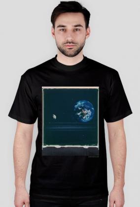 Space Mushroom T-Shirt/ black
