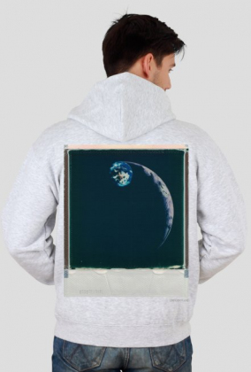 Space Meeting Hoody/ Grey