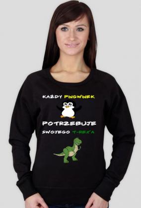 """Bluza """"Pingwiny i T-rex'y"""""""