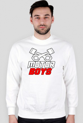 Bluza bez kaptura Motor Boys