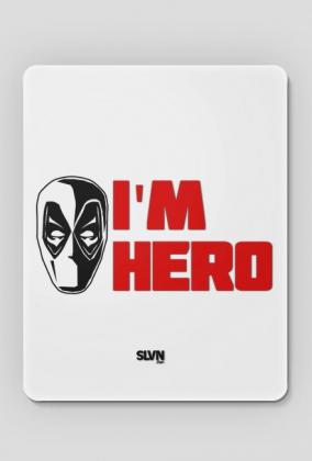 Deadpool I'm Hero Podkładka pod myszkę