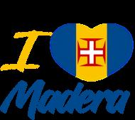 Kubek I love Madera + flaga