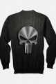 BLUZA PUNISHER BLACK FULLPRINT