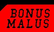 BONUS MALUS - podkładka pod myszkę
