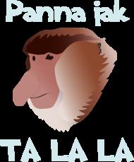 Koszulka damska - Panna jak Ta lala