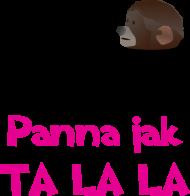 Koszulka dla dziewczynki - Panna jak Ta lala