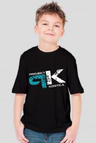 Koszulka chłopięca Projekt Kostka