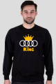 Audi King Bluza Czarna