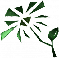 Eko green flower