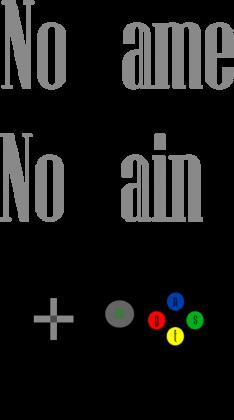 Nstyle - Bluza No Game No Gain