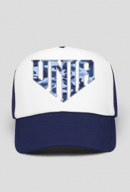 TRUCKER UNIA CAMO blue