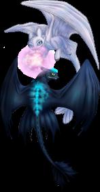Light fury and toothless how to train your dragon 3 the hidden world jak wytresowac smoka