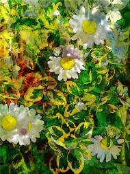 Kwiaty powrotne komin