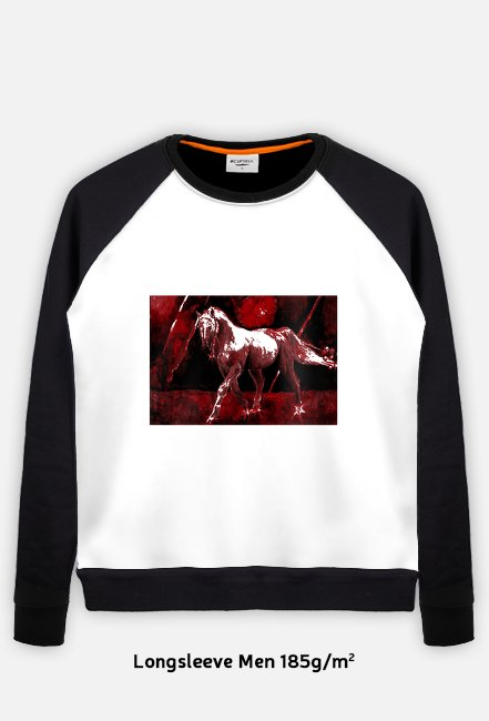 Horse and fire bluza