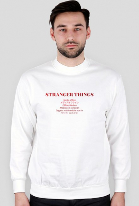 Bluza - Stranger Things