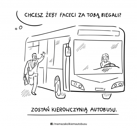 zostań kierowczynią autobusu