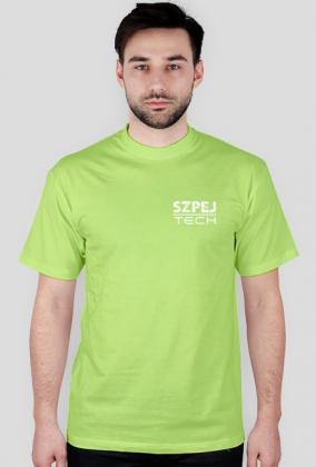 Koszulka SzpejTech na piersi