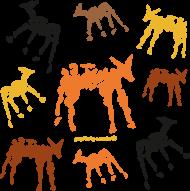 Bezrękawnik męski z nadrukiem - animals