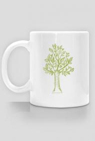 Kubek z drzewkiem, drzewo kubek, kubek z drzewem