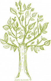 Męski podkoszulek z drzewem, drzewo koszulka męska