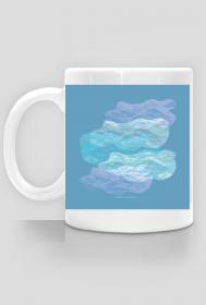 Chmury - kubek z oryginalnym wzorem