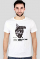 """""""My heart belongs to your mom"""" white t-shirt"""