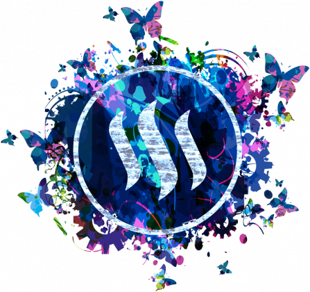 Woman Steem Butterfly